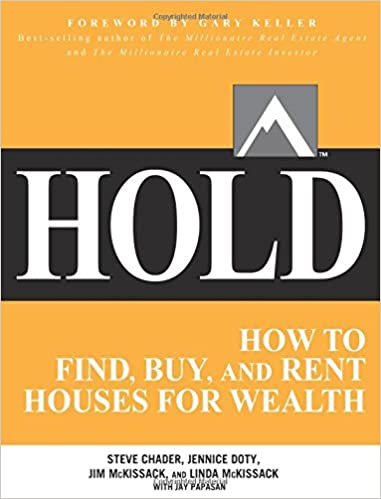 image for HOLD: How to Find, Buy, and Rent Houses for Wealth