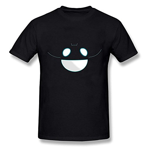 AzonLD Men's Deadmau5 Halloween Face Logo Short (Tegan And Sara Halloween T Shirt)