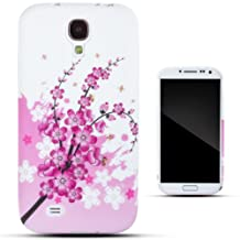 Zooky® Pink TPU JAPANESE CHERRY BLOSSOM Case / Cover / Shell for Samsung Galaxy S4 (I9500)