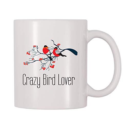 4 All Times Crazy Bird Lover Coffee Mug (11 oz)
