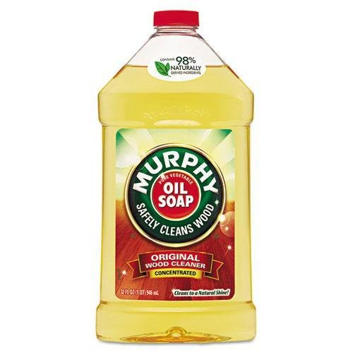 - Murphy Oil 01163CT Original Wood Cleaner, Fresh Scent, Liquid, 32oz, 9/Carton