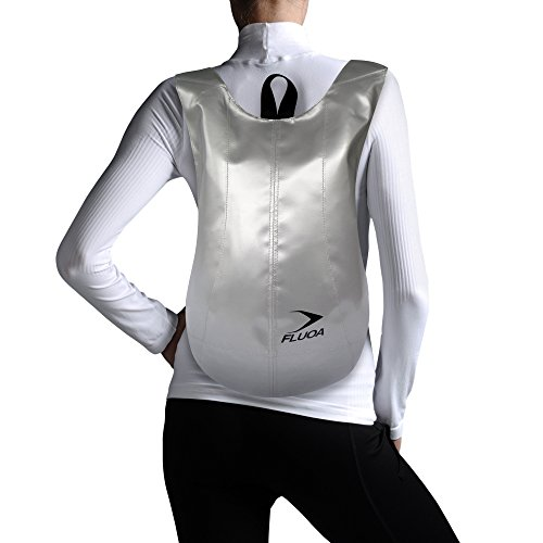 FLUOA - Bolso mochila  de sintético para mujer Gris gris