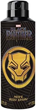 Black Panther Men's Body Spray, Black & Gold, 6.8 Oz