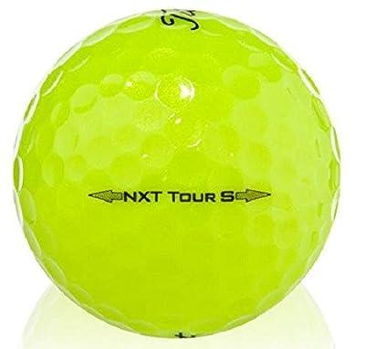 3 Dozen Titleist NXT Tour S Yellow 2014 Mint AAAAA Quality Recycled Golf Balls #1 Ball In Golf