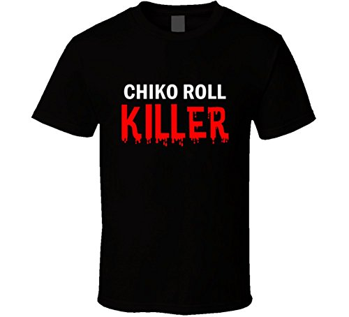 chiko-roll-killer-fun-essential-foodie-food-gift-t-shirt-xl-black
