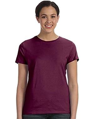 Hanes Ladies' Nano-T T-Shirt, Maroon