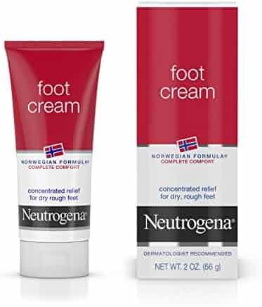 Neutrogena Norwegian Formula Moisturizing Foot Cream, 2 Oz. (Pack of 6)
