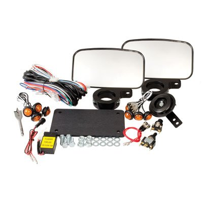 Tusk UTV Street Legal Kit- Lights, Horn, Turn Signals, Mirrors, License Plate - POLARIS RZR XP 4 900 2012– 2014