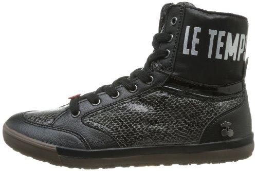 Schwarz Black Snake Le Noir des Sneaker Damen Cerises Temps Heritage New a6qO0xa