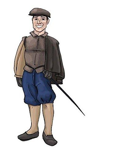 Diy Elizabethan Costume (MA021- The Elizabethan Gentleman's Cloak Pattern by Margo Anderson)