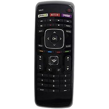 vizio tv control. smartby new vizio xrt112 remote control for smart tv tv amazon.com