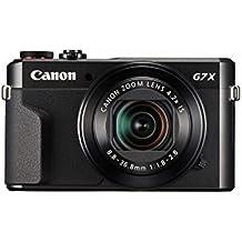 Canon PowerShot G7 X Mark II Digital Camera w/ 1 Inch Sensor and tilt LCD screen - Wi-Fi & NFC Enabled (Black) (Certified Refurbished)