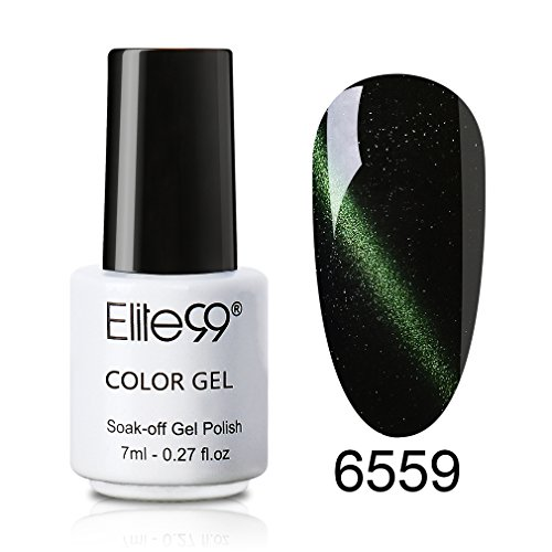 Elite99 UV LED 3D Cat Eye Effect Nail Gel Polish Magnetic So