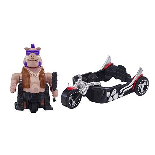 Teenage Mutant Ninja Turtles T Sprints Basic Movie 2 Chopper Triken Bebop Figure