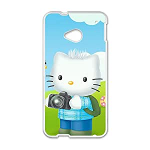 LINGH Hello kitty Phone Case for HTC One M7 case