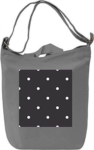 Bubbles Pattern Borsa Giornaliera Canvas Canvas Day Bag| 100% Premium Cotton Canvas| DTG Printing|