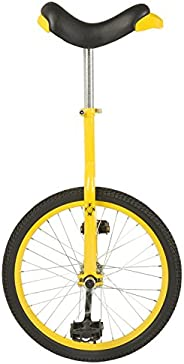 Fun 20 Inch Wheel Unicycle with Alloy Rim, Red, 20-Inch