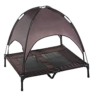 Amazon.com : Large Dog Cot Brown : Pet Supplies