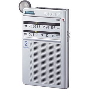 SONY FM / AM radio pocketable ICF-R46
