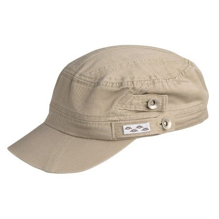 Conner Hats Men's Reduce Organic Cotton Army Fatigue Cap, Khaki, OS