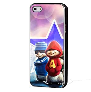 Bondever Alvin and the Chipmunks PC Phone Cover Case for iPhone 5