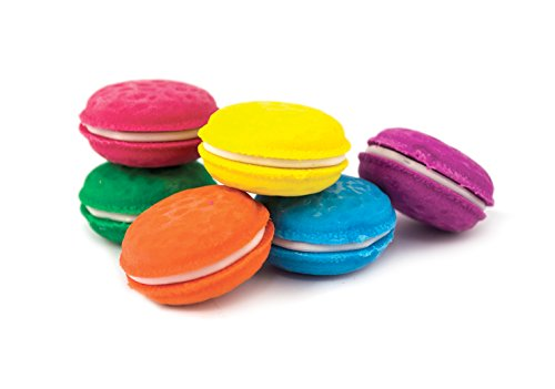 International Arrivals Erasers, Macaron Scented, Set of 6 (112-052)