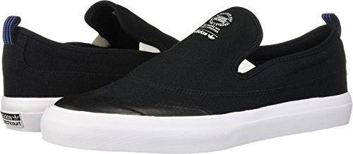 adidas Skateboarding Men's Matchcourt Slip Core Black/Footwear White/Gum 9 D (Adidas Mens Slip)