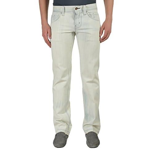 Hot Dolce & Gabbana White Classic Straight Leg Men's Glued Jeans US 28 IT 44 hot sale