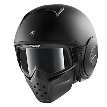 Shark casco jet Raw