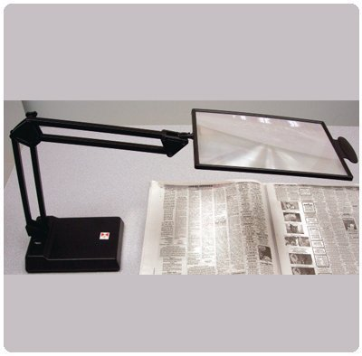 2X Hands Free Desk/Computer Magnifier - 2X Hands Free Desk/Computer Magnifier