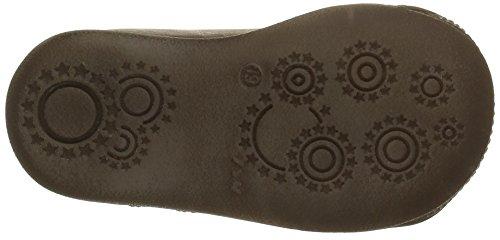 GBB Noe - Zapatos de primeros pasos Bebé-Niñas Marrón - Marron (14 Vte Marron Dpf/Raiza)