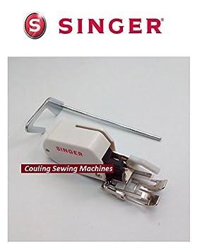 Singer máquina de coser 7 mm pie pies incluso para acolchado + Guía: Amazon.es: Hogar