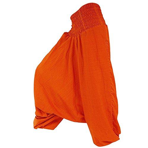 Adulto Para nbsp;– Única Henrius Talla Modelo nbsp;pantalón Naranja Charmoni® Charmoni Sarouel IXZwSxI6