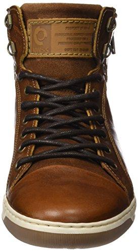 Bullboxer 5836a, Zapatillas Altas para Hombre Marrón (Cognac)