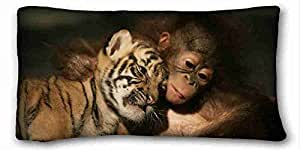 "Custom Characteristic Animal DIY Pillow Cover Size 20""X36"" suitable for Twin-bed"