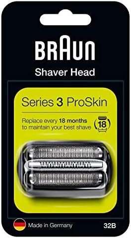 Braun Series 3 32B Cabezal de Recambio para Afeitadora Eléctrica ...