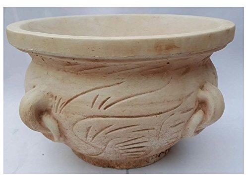nessun minimo Vaso Vaso Vaso da Giardino Vaso Anfora con Manici - H cm 33x36  comprare a buon mercato