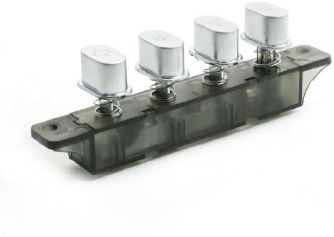 sourcingmap Extractor de cocina 4 botones Interruptor de teclado 250VAC 4MQ224C: Amazon.es: Bricolaje y herramientas