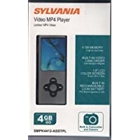 Sylvania Video Mp4 Player 1.8 Lcd Color Screen-black