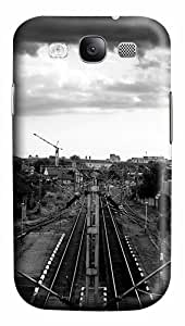 Train Station PC Case Cover for Samsung Galaxy S3 I93003D
