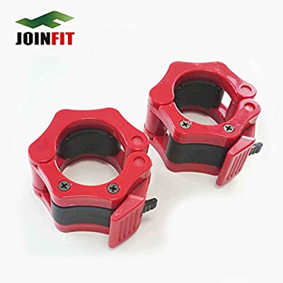 """2"""" Olympics Barbell Gym Lock Collars for Weightlifting, Deadlifting, Bodybuilding Workout"""