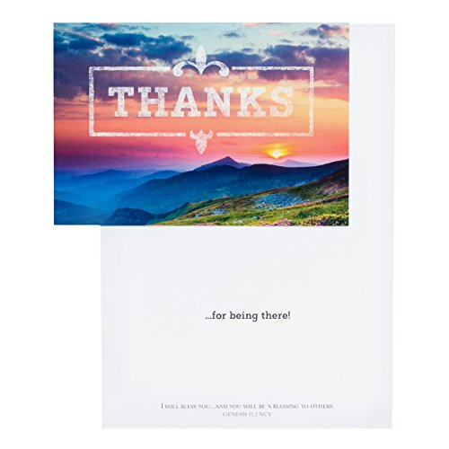 DaySpring Thank You Boxed Greeting Cards w Embossed Envelopes - God is Good, 12 Count (45608) Photo #3