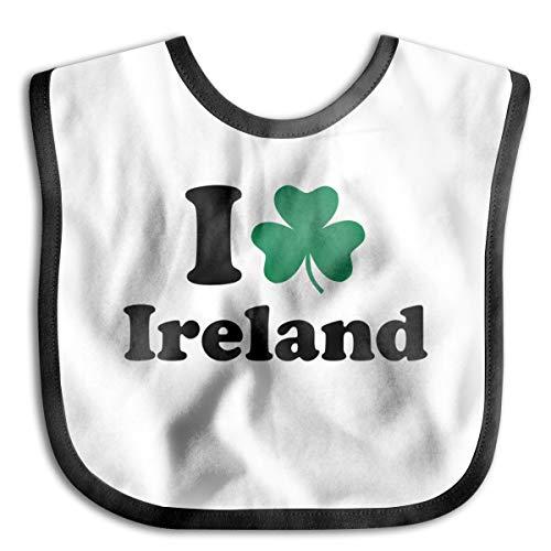 I Like Ireland Baby Drool Bibs Baby Skin Wrap Bib Soft Unisex