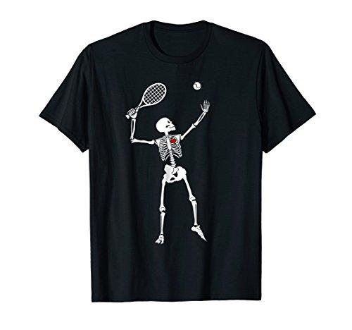 Tennis Skeleton X Ray T-Shirt Skelton Tennis