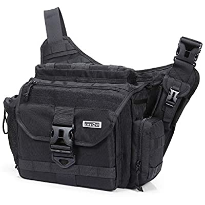 Lifewit Multi-Functional Military Tactical Messenger Bag Large Shoulder Bags Laptop Cross Body Bag Fit Hiking, Outdoor Sports, Daily Service Military Affairs