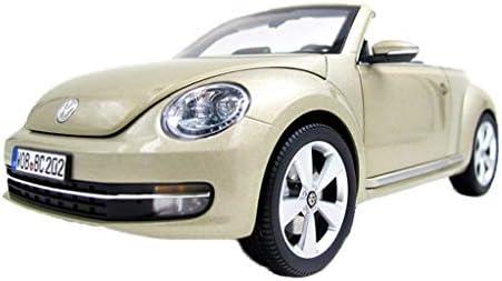 YN モデルカー 1:18フォルクスワーゲンニュービートル合金車のモデルオリジナルシミュレーションスポーツカーモデルギフトコレクション金属装飾 ミニカー (Color : Gold)