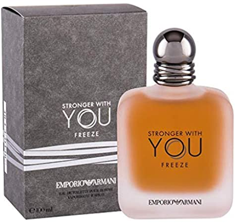 emporio armani perfume stronger with you