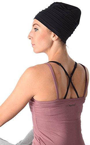 Fashy Mujer Yoga Ejercicio Gorra Pelo Turbante Funda Chemo ...