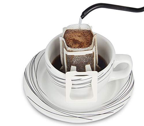 Emousport 使い捨てドリップコーヒーカップフィルターバッグ ハンギングカップ コーヒーフィルター コーヒー&ティーツール ホワイト 100  B07KLTQPMT