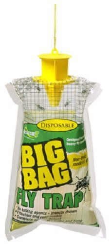 RESCUE - Big Bag Disposable Fly Traps - Quantity 4